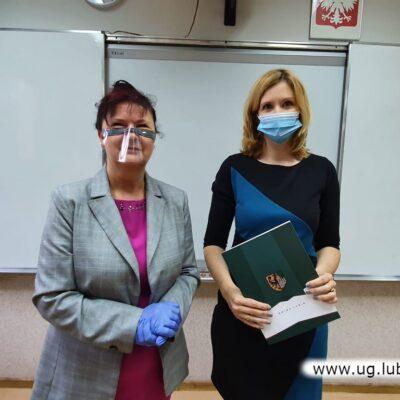 Lucyna Szudrowicz i Anna Warzocha - SP w Raszówce