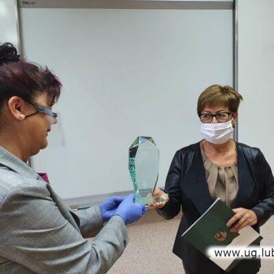 Lucyna Szudrowicz i Danuta Bartosz-Formago- SP w Raszówce