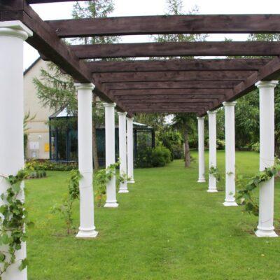 Ogrodowa kolumnada.
