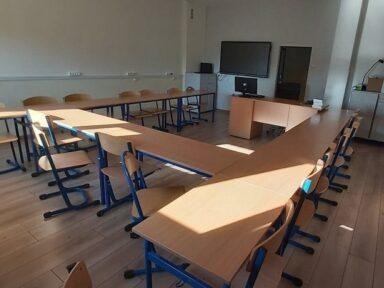 Sala szkolna w Krzeczynie