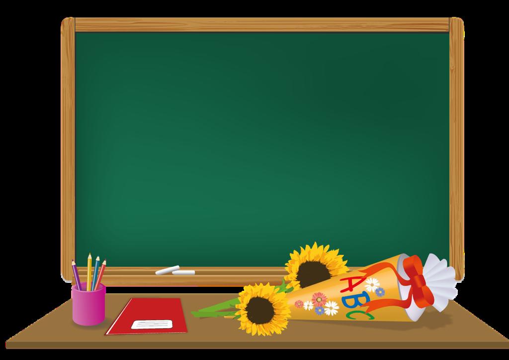 Ilustracja tablicy szkolnej