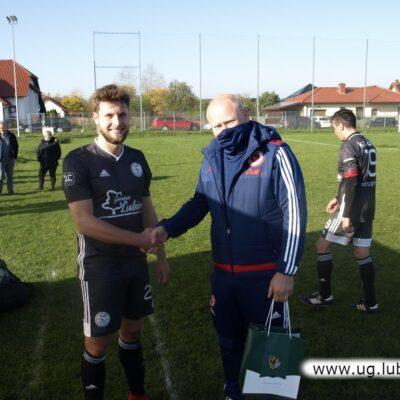 Najlepszy piłkarz meczu z Unii Szklary Górne - Mikołaj Ptak