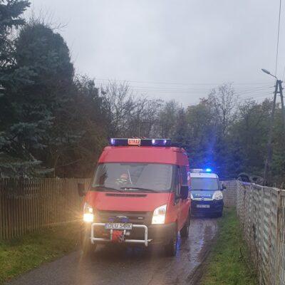 W akcji brali udział strażacy z PSP i OSP.