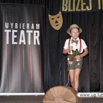 Kalina Tryniszewska zaprezentowała wiersz Juliana Tuwima.