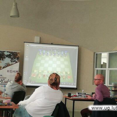 W szkoleniu wykorzystano wiele multimedialnych pomocy naukowych.