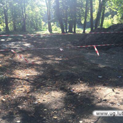 Rewitalizacja rozpoczęła się od porządkowania drzewostanu, teraz trwają prace budowlane.