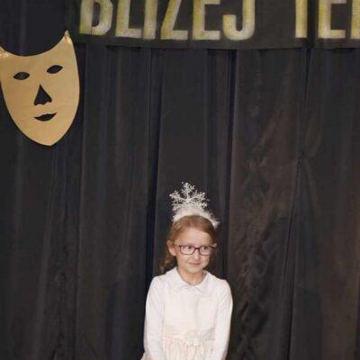 Natalia Kołacz zaprezentowała Śniegową dziewczynkę