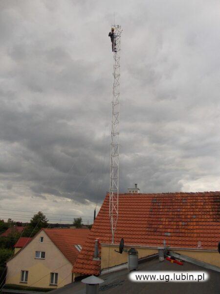 W 20 miejscowościach Gminy Lubin, wybudowano lekkie maszty radiowe. Zamontowano na nich bezpieczne nadajniki niewielkiej mocy, mające znikomy wpływ na środowisko.