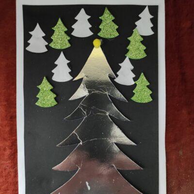 Świąteczna kartka konkursowa.