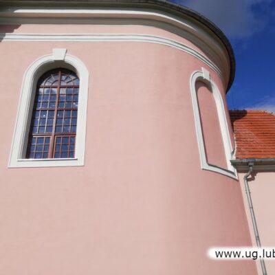 Prace wykonane w roku 2020 przy Kościele Parafialnym pw. Trójcy Świętej w Zimnej Wodzie