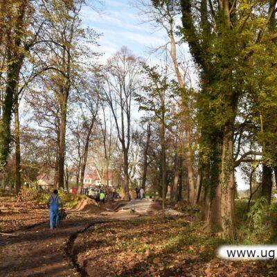 W parku uporządkowano ścieżki rekreacyjne