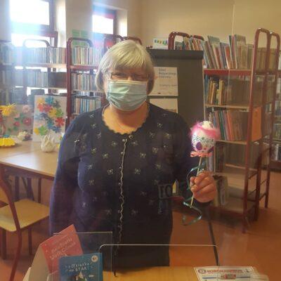 Bibliotekarka Regina Miśta