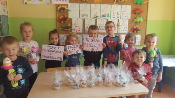 Przedszkolaki z Miłoradzic