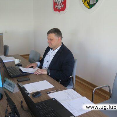 Przewodniczący Rady Gminy Norbert Grabowski