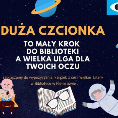 Praca konkursowa, która powstała w bibliotece w Niemstowie