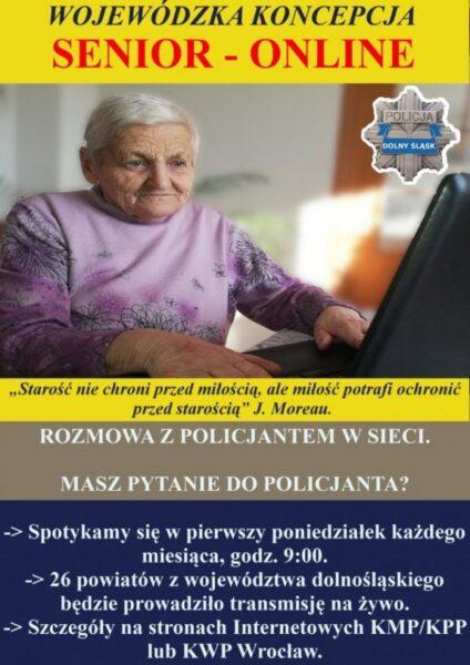 Plakat promujący szkolenie