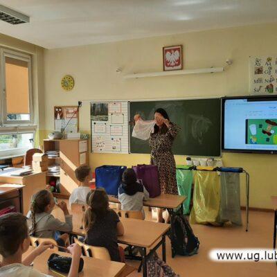 Specjalna lekcja edukacyjna w Szkole Podstawowej w Raszówce