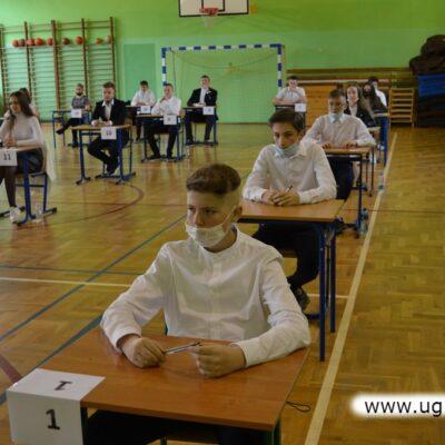 Egzamin z polskiego trwał 120 minut
