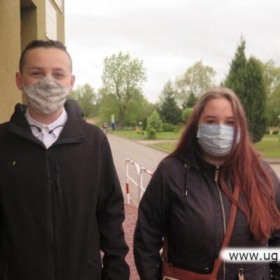 Piotr Kowacki i Ola Krawczyk - chcą zostać informatykami