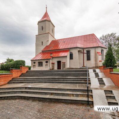 Kościół w Gorzycy.