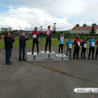 Ogólnopolski Puchar Gór Stołowych - podium