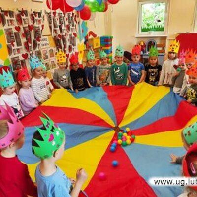 Zabawy z okazji Dnia Dziecka