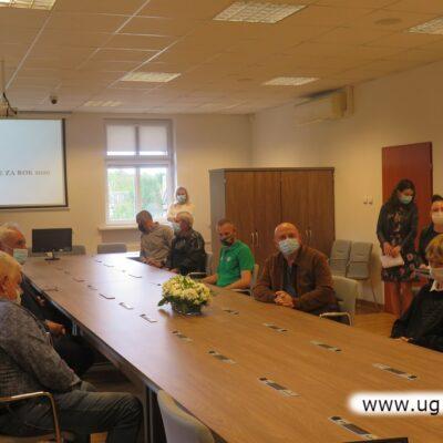Spotkanie zorganizowano w Urzędzie Gminy w Lubinie