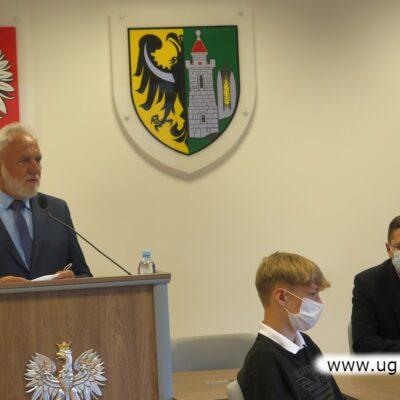 W imieniu nagrodzonych głos zabrał Jerzy Dzikowski