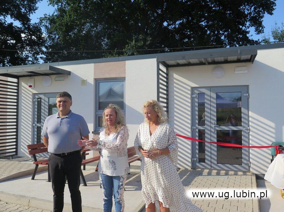 Uroczyste otwarcie nowej świetlicy w Buczynce