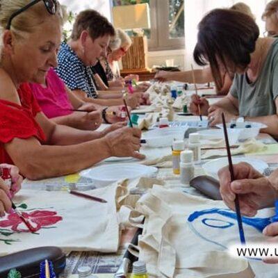 Warsztaty artystyczne dla seniorów