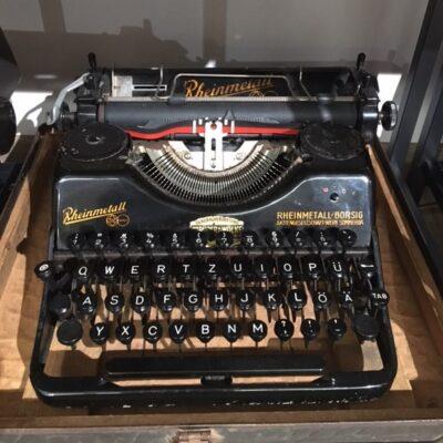 Maszyna do pisania firmy Rheinmetall Borsig