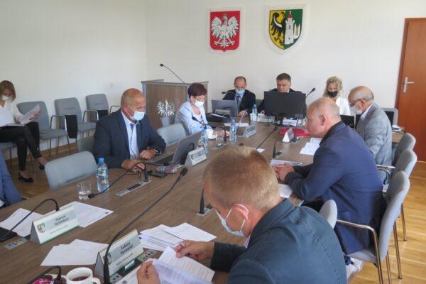 Sesja rady gminy z 7.09.2021 r.