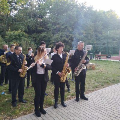 Orkiestra Dęta Gminy Lubin.
